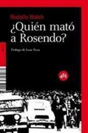 descargar epub ¿Quién mató a Rosendo? – Autor Rodolfo Walsh