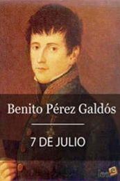 descargar epub 7 de julio – Autor Benito Pérez Galdós gratis