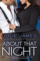 descargar epub About that night – Autor Julie James