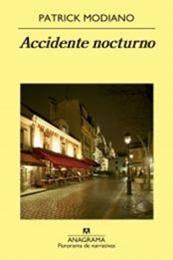 descargar epub Accidente nocturno – Autor Patrick Modiano
