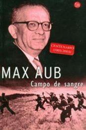 descargar epub Campo de sangre – Autor Max Aub