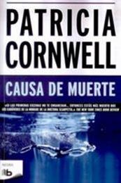 descargar epub Causa de muerte – Autor Patricia Cornwell