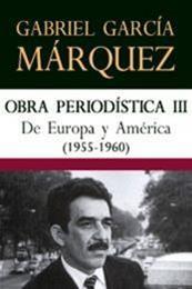 descargar epub De Europa y América – Autor Gabriel García Márquez gratis