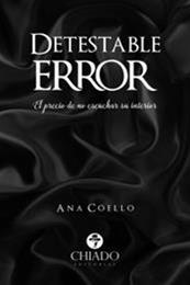 descargar epub Detestable error – Autor Ana Coello