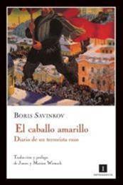 descargar epub El caballo amarillo – Autor Borís Sávinkov