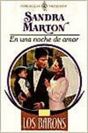 descargar epub En una noche de amor – Autor Sandra Marton gratis