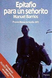 descargar epub Epitafio para un señorito – Autor Manuel Barrios