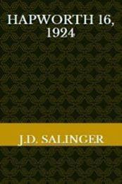 descargar epub Hapworth 16, 1924 – Autor J.D. Salinger