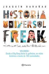 descargar epub Historia Universal Freak – Autor Joaquín Barañao