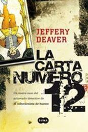 descargar epub La carta número 12 – Autor Jeffery Deaver