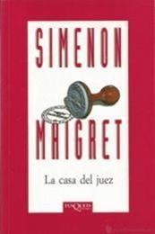 descargar epub La casa del juez – Autor Georges Simenon