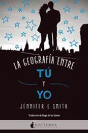 descargar epub La geografía entre tú y yo – Autor Jennifer E. Smith