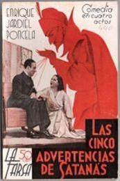 descargar epub Las cinco advertencias de satanás – Autor Enrique Jardiel Poncela