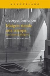 descargar epub Maigret tiende una trampa – Autor Georges Simenon