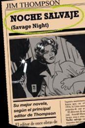 descargar epub Noche salvaje – Autor Jim Thompson
