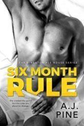 descargar epub Six month rule – Autor A.J.Pine