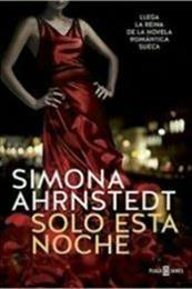 descargar epub Solo esta noche – Autor Simona Ahrnstedt gratis