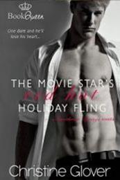descargar epub The Movie Star's Red Hot Holiday Fling – Autor Christine Glover