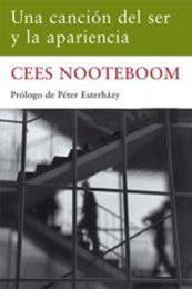 descargar epub Una canción del ser y la apariencia – Autor Cees Nooteboom gratis