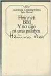 descargar epub Y no dijo ni una palabra – Autor Heinrich Böll gratis